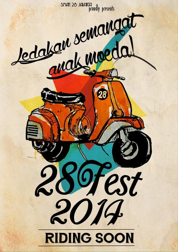RIDING SOON! *vroom* 💨💨💨 June 2014. #Support28Fest2014 go follow our Instagram @28fest http://t.co/Z00l17IfYO