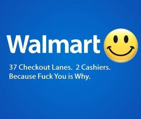 Walmart checkout lanes http://t.co/8N8teGxVlo