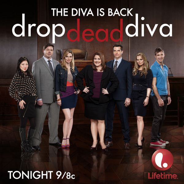 Oh my Diva! #DropDeadDiva returns TONIGHT! 'Share' if you'll be watching the special 2-hour premiere with us at 9/8c! http://t.co/MpATCf0yMR