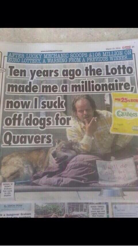 Aaaah the Sunday Sport, what a headline http://t.co/JZIsHxFFZ4