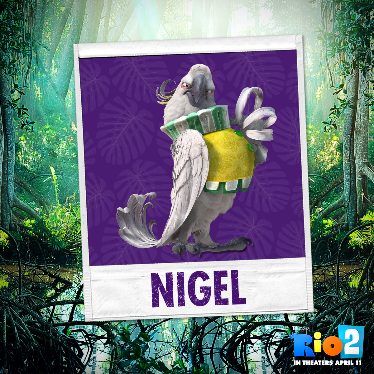 RT @RioMovie: Nigel is back, and this time he wants revenge. Tune in tomorrow for the FINAL #Rio2 trailer! http://t.co/7MXO40ePHu