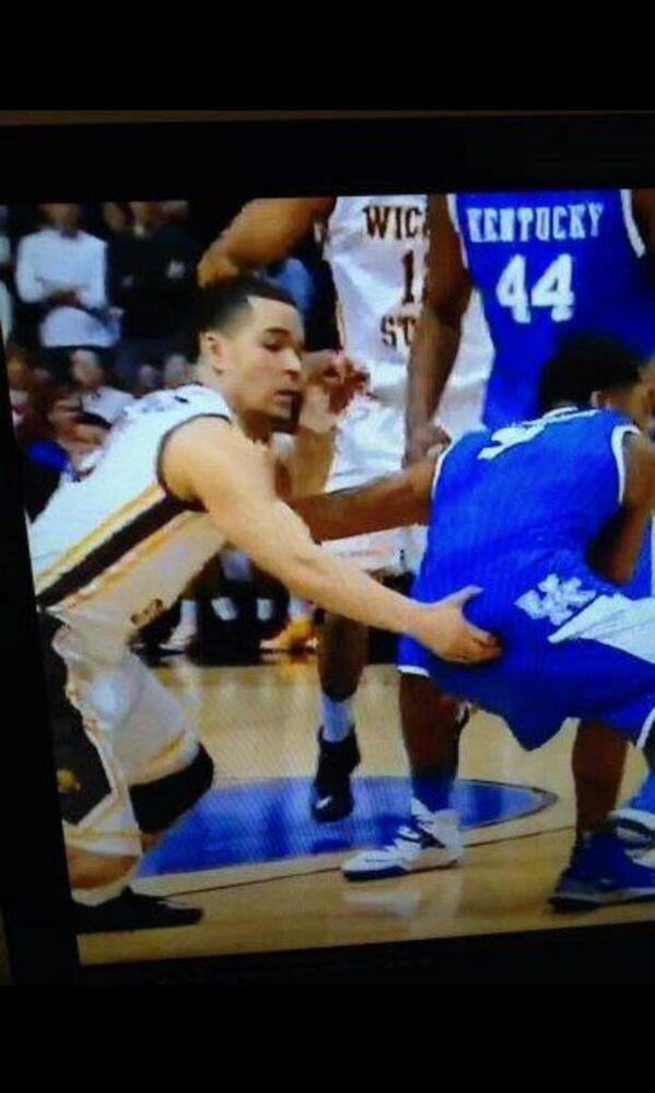 Easy on the shocking there, Shockers. http://t.co/nno5TEj8MG