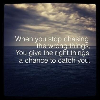 Stop expending energy on the wrong things, and the right things will open up to you! http://t.co/kug2W6wZ28