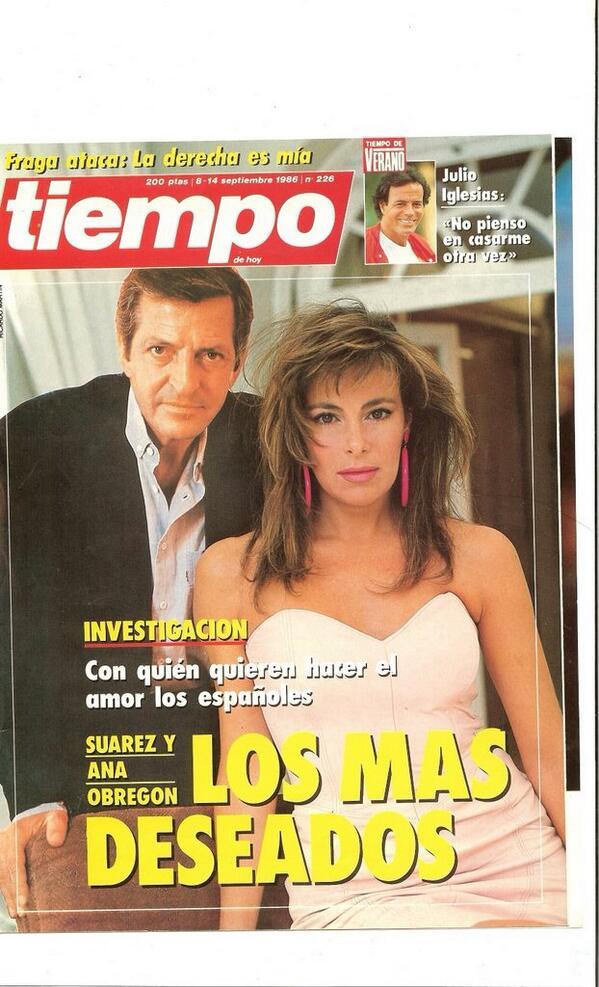 Tuve el orgullo de protagonizar esta portada con Adolfo Suárez. El rey de la transición.Descanse en paz. http://t.co/KXfzKSdQde