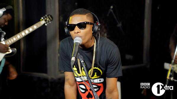 @wizkidayo's amazing cover in the Live Lounge, watch it here http://t.co/JAJDgbcgiN #1XAfrica http://t.co/pWibDsWnlk