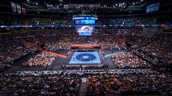 Thank you fans, @ncaawrestling & @okcAllSports for making the #d1wrestle championships in #OKC a success! http://t.co/Cua1PN8Enb