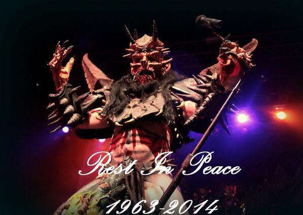R.I.P. @TheRealOderus May your journey beyond this galaxy be a great one. Flattus will be waiting \m/ http://t.co/ZuL5u9OSIm