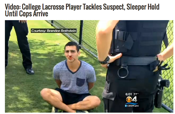 This is what happens when you mess with the wrong #lacrosse player http://t.co/7YX5bVM9Vc http://t.co/uTzKW1TOGr
