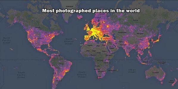 The most photographed places in the world: http://t.co/f2tah9tndU