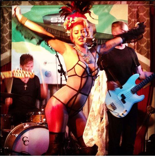 .@NeonHitch working the crowd at SXSW. RT if you want more Neon Hitch in 2014! http://t.co/MwADPSByRm