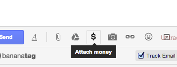 Gmail just added the ability to send $ through Google Wallet link inside the Compose window. Rolling out to users http://t.co/brU6w96Bnb