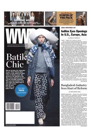 @JKTfashion mission Bringing Indonesia to the World:  @NurZahralook report from MBFWT is on cover @womensweardaily http://t.co/cDq3YPB7pi