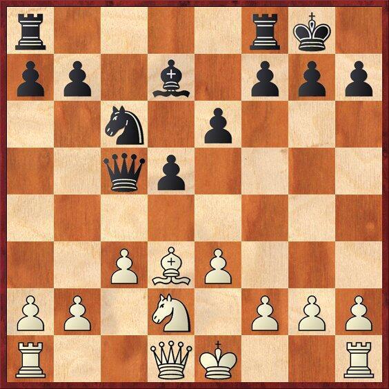 Unusual take on a classic sacrifice: Bxh7+ by @IGMGataKamsky vs. @GMShanky http://t.co/N5gUKO9iHV http://t.co/tKIVpttEjR