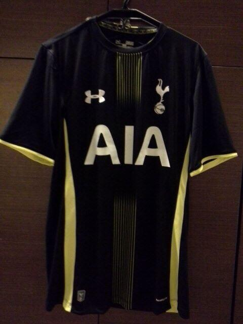Bjjr4jjIQAAM yM Leaked? An image of Tottenhams rumoured away shirt for 2014 15 is spread online [Picture]