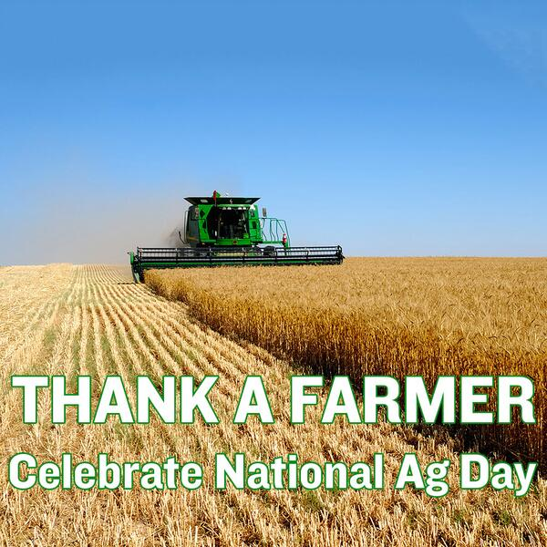 It's National @AgDay! Thank a farmer & celebrate our agricultural community. Who are the farmers in YOUR family? http://t.co/8MhPa0ZNGJ