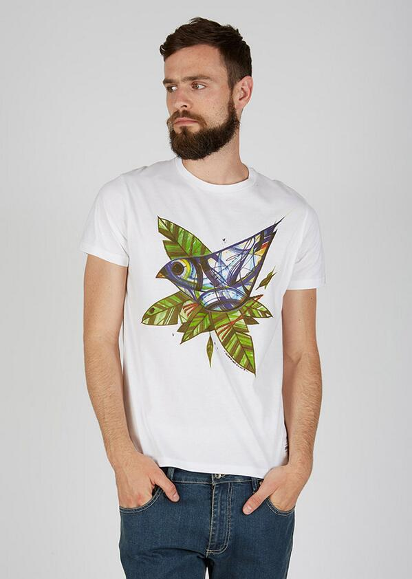 Para bird is a new graphic t-shirt designed by #whitecanvasproject artist @guymckinley http://t.co/CCHOreunpg http://t.co/3ljCg9EQCq