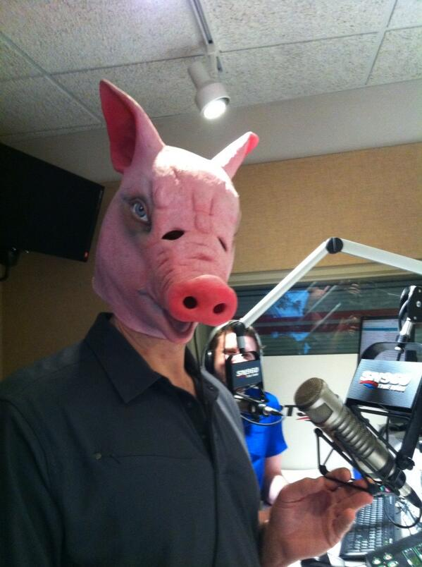 Here it is... The legendary #pigmask http://t.co/QK9yS0nbmC