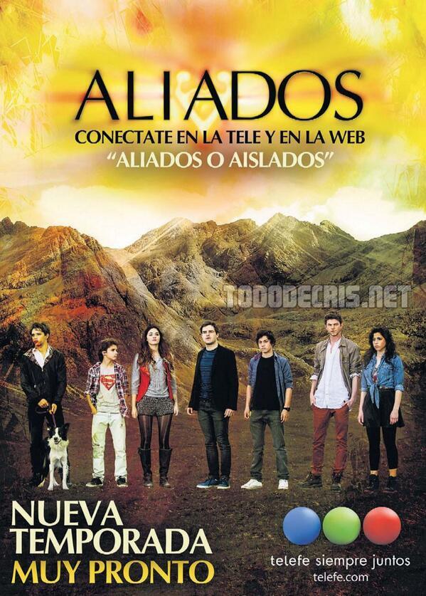 #Aliados por Fox para Latinoamerica, nueva temporada desde el Lunes 7 de Abril a las 19hs http://t.co/FlvN8HJLa0 http://t.co/oh3H18atJO