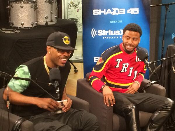 Tune into Shade 45 w/@SageTheGemini @realsway right now!!!!!! http://t.co/8Sx9bWyFIc