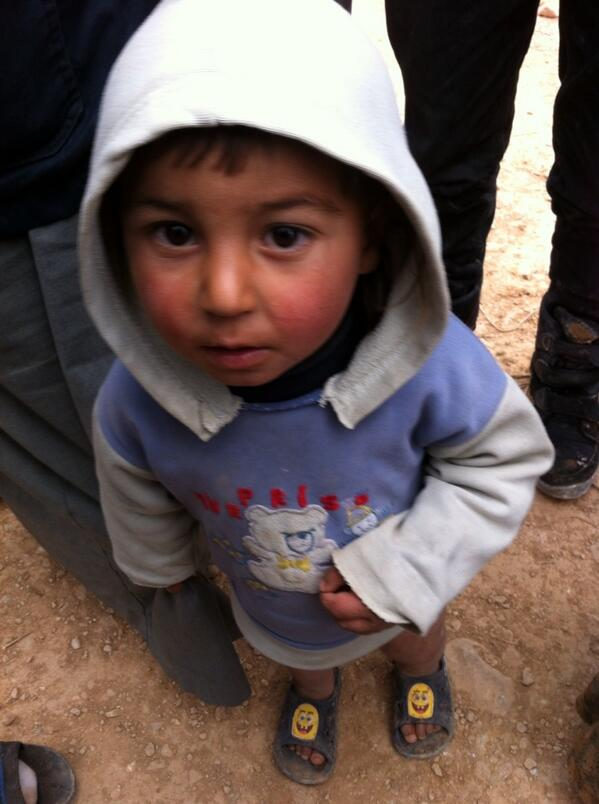 "This 5yro #syria refugee father says ""if we were animals the world would care more about our plight"" http://t.co/d8OHtHmtk9"