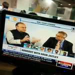 RT @RuchiraSingh: Do tune in right now to watch our first hangout with @sardesairajdeep and @arunjaitley on CNNIBN. #AskJaitley http://t.co…