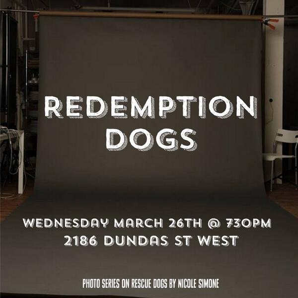 Please RT! My photo series show on #rescuedogs and their owners! One night event! Dogs are welcome at the gallery! http://t.co/2C1RvSt3mB