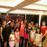 RT @Strut_Dance: .@aliaa08 with the current season dancers of Strut.