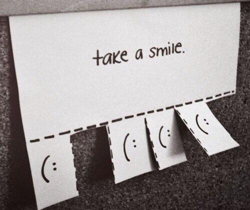 Take a smile (: http://t.co/f4v3xW9qyQ