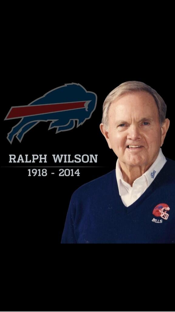 Rest in peace to a great man. Can't thank him enough for the opportunity he has given me in Buffalo http://t.co/0ShF2FKy7p