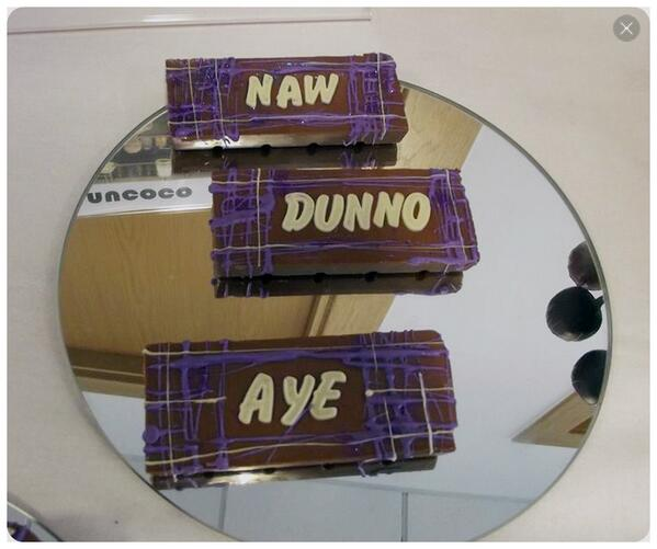 Referendum chocolate bars from @NucocoChocolate in Glasgow. #shopindependent :) http://t.co/kZ6zuCdEdE http://t.co/BCBAwdm3Tr