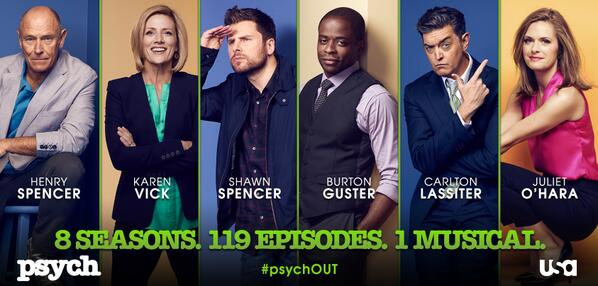 The guys take a trip down Memory Lane—followed by a car chase. RT our final poster before the Final Ep. #psychOUT http://t.co/LxzdwigfHC