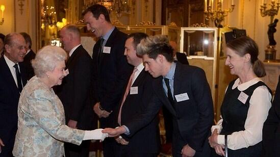 I would to thank @BritishMonarchy and of course queen Elizabeth for her invite to Buckingham palace yesterday evening http://t.co/xzz5tiodv0