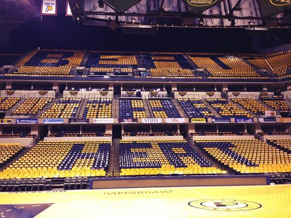 Only one thing matters tonight. #Pacers http://t.co/3NIhpq3WrD