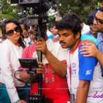 RT @Ragalahari: Chandamama Kathalu Working Stills @LakshmiManchu http://t.co/YYhGTta04J http://t.co/to4mhxu1ky