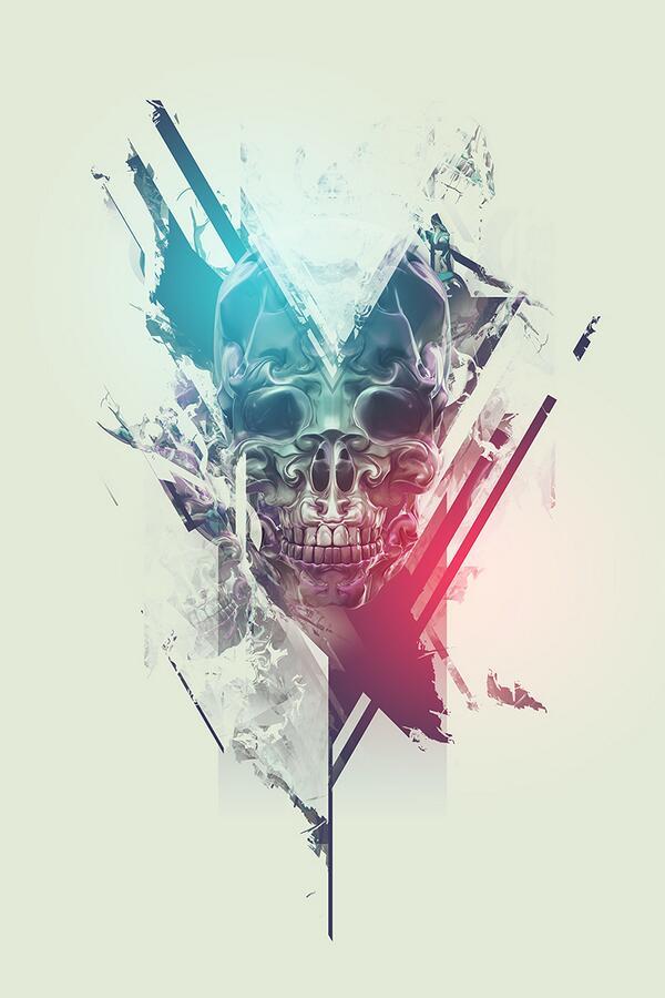 [Photo Manipulation] metalic skull breakthroughs: http://t.co/54UA7cigES  by @precurser http://t.co/dcfj1bH24l http://t.co/SjftVDvacy
