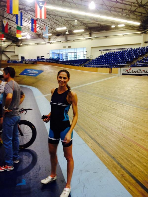 Aero testing w @TorHansAero by @alphamantis at the @VeloSportCenter! The velodrome is soooo fun!!!! http://t.co/EQgOV3KDMW