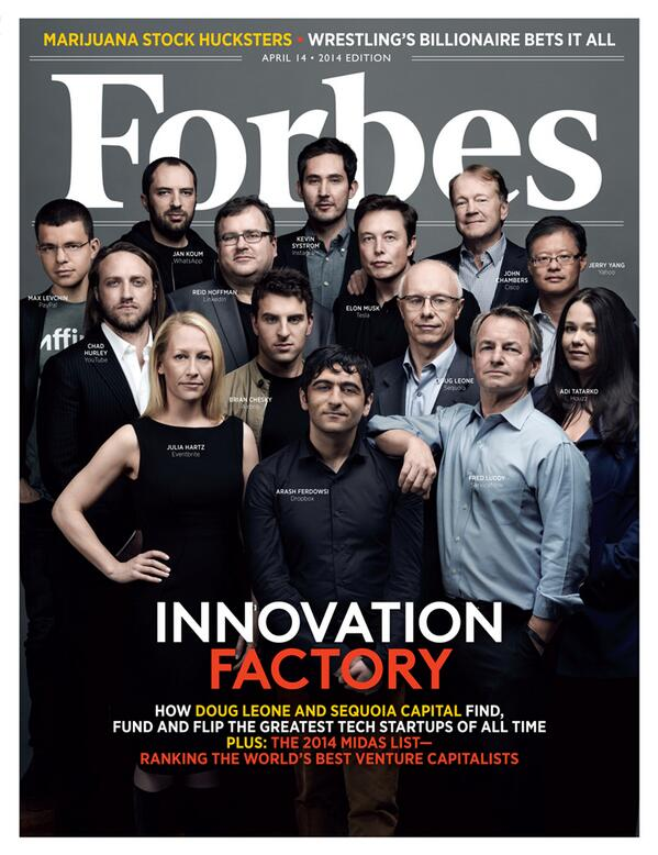 Wonderful to have our founders on the cover @Forbes.They are the ones w/ the midas touch. http://t.co/b7X0j1w8sO  http://t.co/RD2Qdm5a1s