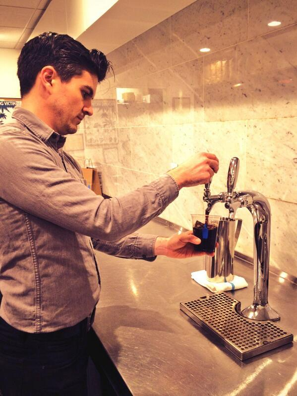 Blue Bottle Rockefeller now has New Orleans and Single Origin iced coffees on tap! http://t.co/Uwt9U4zUsR
