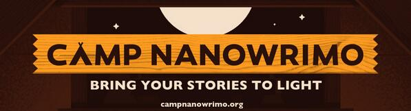It's Bring a Friend to Camp Day!  RT to possibly win 2 #CampNaNoWriMo care packages from HQ: for you & your friend! http://t.co/s1XI32yqPy
