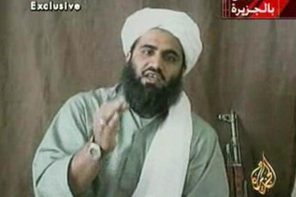 Osama Bin Laden's son-in-law Sulaiman Abu Ghaith found guilty of terror charges. Full story: http://t.co/y7MXFzosOl http://t.co/xb8FGswtR8