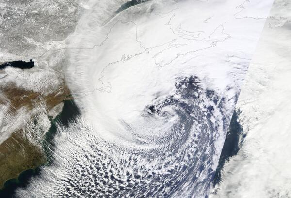 Full @NASA Modis image of #atlstorm just in:
