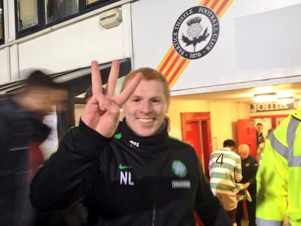 Bjryp sIQAAk7qI The best pictures as Celtic win the SPL after a 5 1 win at Partick Thistle