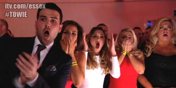 OUCH! The reaction when @elliottwright_ knocked out @lewis_bloor says it all... #TOWIE http://t.co/uzQwzxSilL