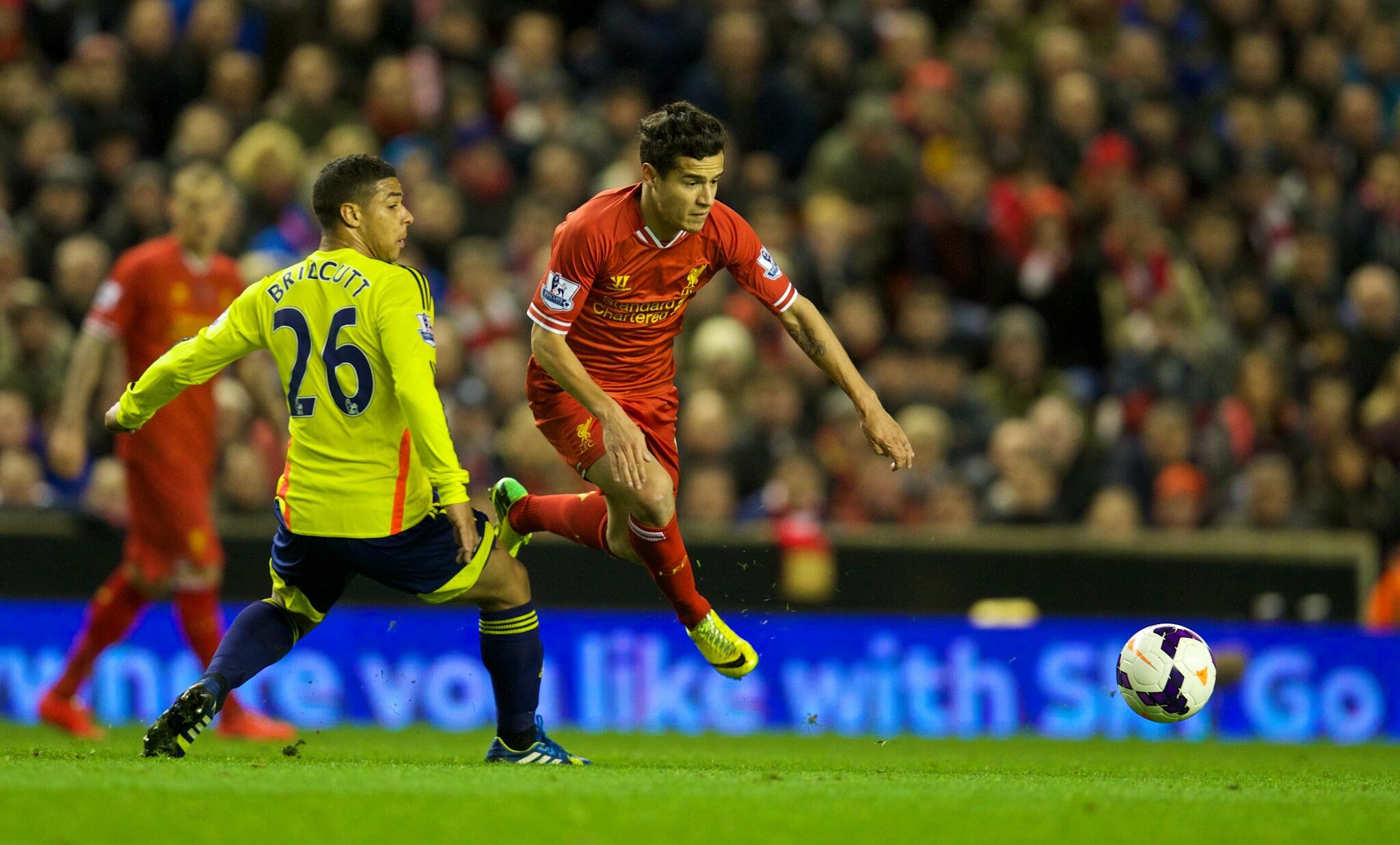 Congratulations to @Phil_Coutinho who you voted as #LFC's Man of the Match against Sunderland tonight http://t.co/aTPMSfXiTu