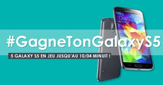 #GagneTonGalaxyS5 > On en a 5 à vous faire gagner :) Pour jouer : Follow @Fnac et RT avant le 10/04 http://t.co/BdyPIoSLqt