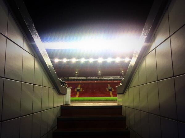 Goodnight from Anfield #LFC http://t.co/vfmK6oRMPf