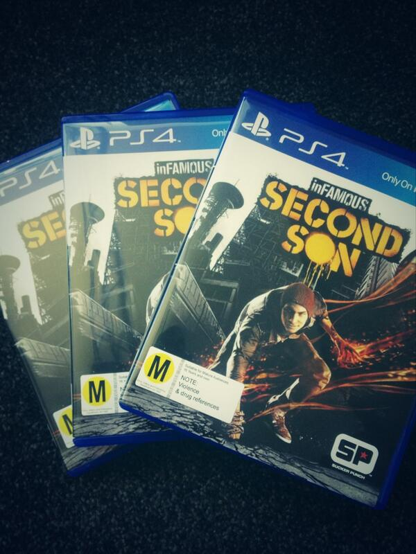 We have 3 of these #inFAMOUS #ps4 games to giveaway thanks to @PlayStationNZ. Retweet to go in the draw to win! http://t.co/lPaU7buu9n