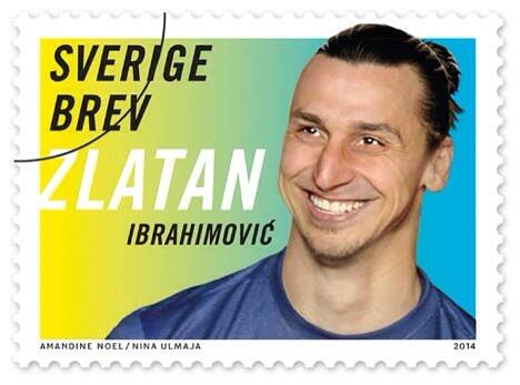 ZLATAN postage stamps launched in Sweden today.  #psg http://t.co/vq06S4WPM9