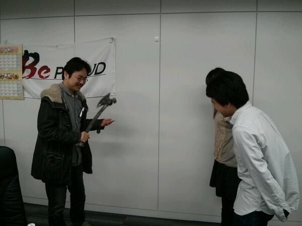 某プロジェクトのミーティングの様子 http://t.co/dAFwrMoHPp