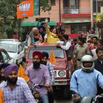RT @harshlapsia: Massive energy, enthusiasm. best wishes on a gr8 campaign @AnupamPkher:@KirronKherBJP on the Streets of Chandigarh.:) http…